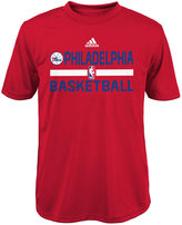 adidas Boys' Philadelphia 76ers Practice Wear Graphic T-Shirt