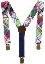 Gymboree Plaid Suspenders