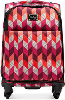 "Vera Bradley Bohemian Chevron 22"" Spinner Suitcase"