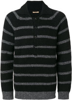 Nuur striped button-collar jumper