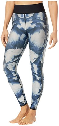 ULTRACOR Cirrus Ultra High Leggings (Midnight Print/Patent Nero) Women's Casual Pants