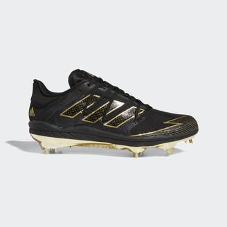 adidas Adizero Afterburner 7 Gold Cleats