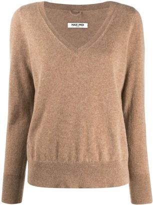 Max & Moi V-neck sweater
