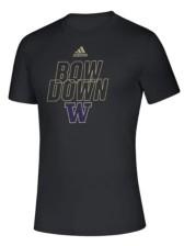 adidas Washington Huskies Men's Locker Motto T-Shirt
