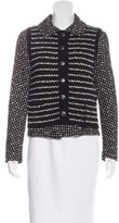 Chanel Striped Tweed Jacket