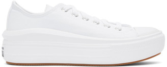 Converse White Chuck Taylor All Star Move Ox Sneakers