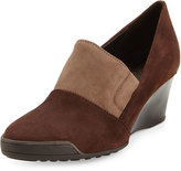 Sesto Meucci Daelyn Suede Wedge Pump, T Moro/Taupe