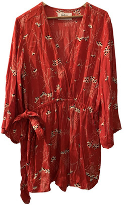 BA&SH Red Viscose Dresses