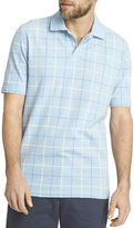 Arrow Short-Sleeve Windowpane Piqu Polo