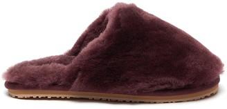 Mou Closed Toe Fur Slippers