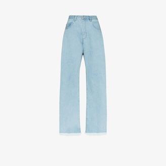 Marques Almeida Wide leg jeans