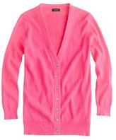 J.Crew Cotton ribbed cardigan