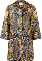 Mary Katrantzou Spence jacquard oversized jacket - women - Silk/Polyester - 8