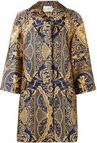 Mary Katrantzou Spence jacquard oversized jacket - women - Silk/Polyester - 8