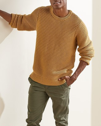 Express Upwest Cozy Crewneck Sweater