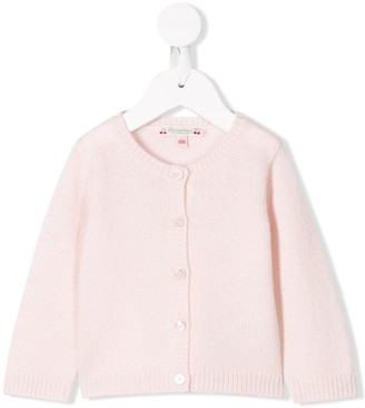 Bonpoint Button-Up Cashmere Cardigan