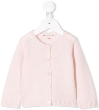 Bonpoint Button-Up Cashmere Cardigan