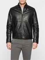 Calvin Klein Leam Leather Jacket