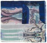 Etro abstract print scarf - men - Silk/Cashmere - One Size