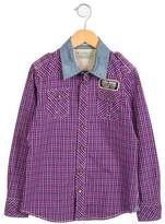 Scotch Shrunk Boys' Plaid Button-Up Top