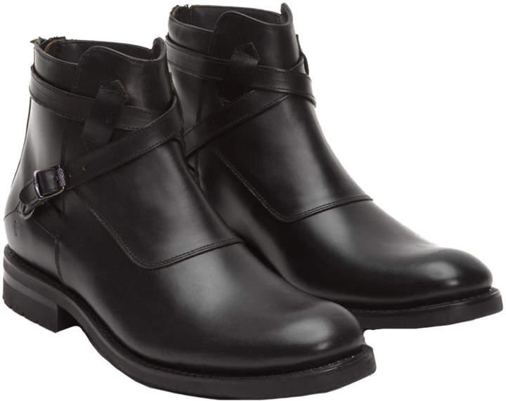 Frye Men's Stone Cross Strap Leather Boot