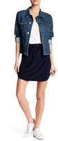Michael Stars Striped Mini Skirt
