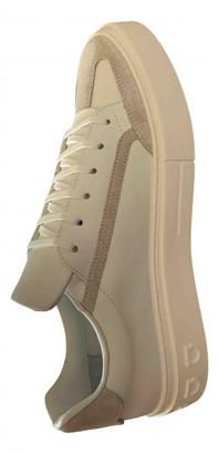Salvatore Ferragamo White Leather Trainers