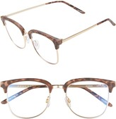Thumbnail for your product : Quay Evasive 52mm Blue Light Filtering Glasses