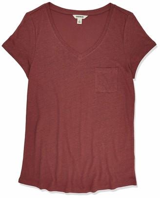 Goodthreads Linen Modal Jersey V-Neck Short-Sleeve T-Shirt