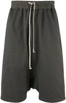 Rick Owens drop crotch shorts - men - Cotton - S