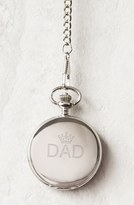 Cathy's Concepts Men's 'Dad' Pocket Watch, 44Mm