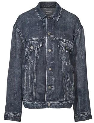 Balenciaga Large fit satin jacket