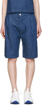 Sunnei Blue Denim Bermuda Shorts