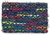 Coohem knit tweed cardholder