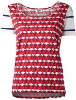 Sonia Rykiel Sonia By 'Love Apple' rayures T-shirt