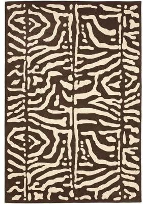 Lauren Ralph Lauren Alden Hand-Tufted Wool Safari Teak Area Rug Rug Size: Rectangle 8' x 10'