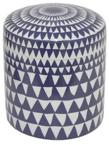 Three Hands Ceramic Jar