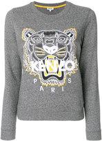 Kenzo Tiger head jumper - women - Cotton/Polyester - S