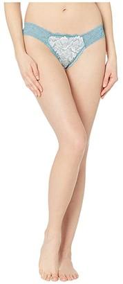 Hanky Panky Low Rise Diamond Thong (Gabriella Blue) Women's Underwear