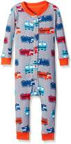 Petit Lem Boys' Bodysuit-Shark Fire Truck