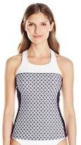 Nautica Women's South Port Soft Cup Sport Tankini