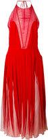 Valentino pleated midi dress - women - Silk - 40