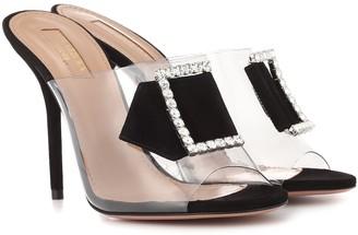 Aquazzura Sparkles 105 embellished sandals