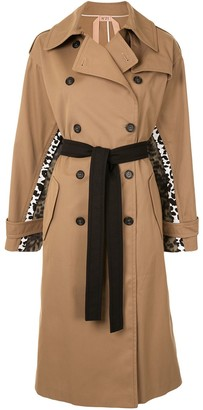 No.21 Spotted Chine Print-Panel Trench