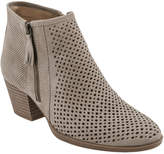 Earth Pineberry Perforated Leather Bootie
