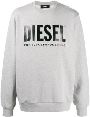 Diesel Logo Printed Sweatshirt