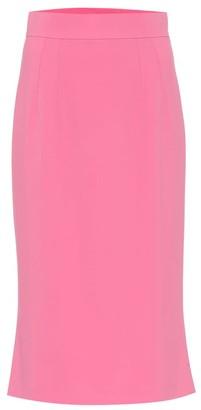 Dolce & Gabbana Cady midi pencil skirt