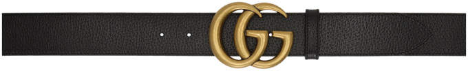 Gucci Black Marmont Belt