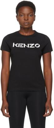 Kenzo Black Classic-Fit Logo T-Shirt
