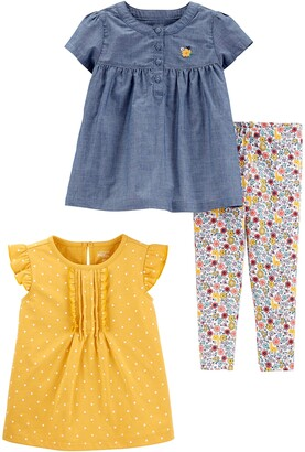 Simple Joys by Carter's 3-Piece Playwear Set Pants